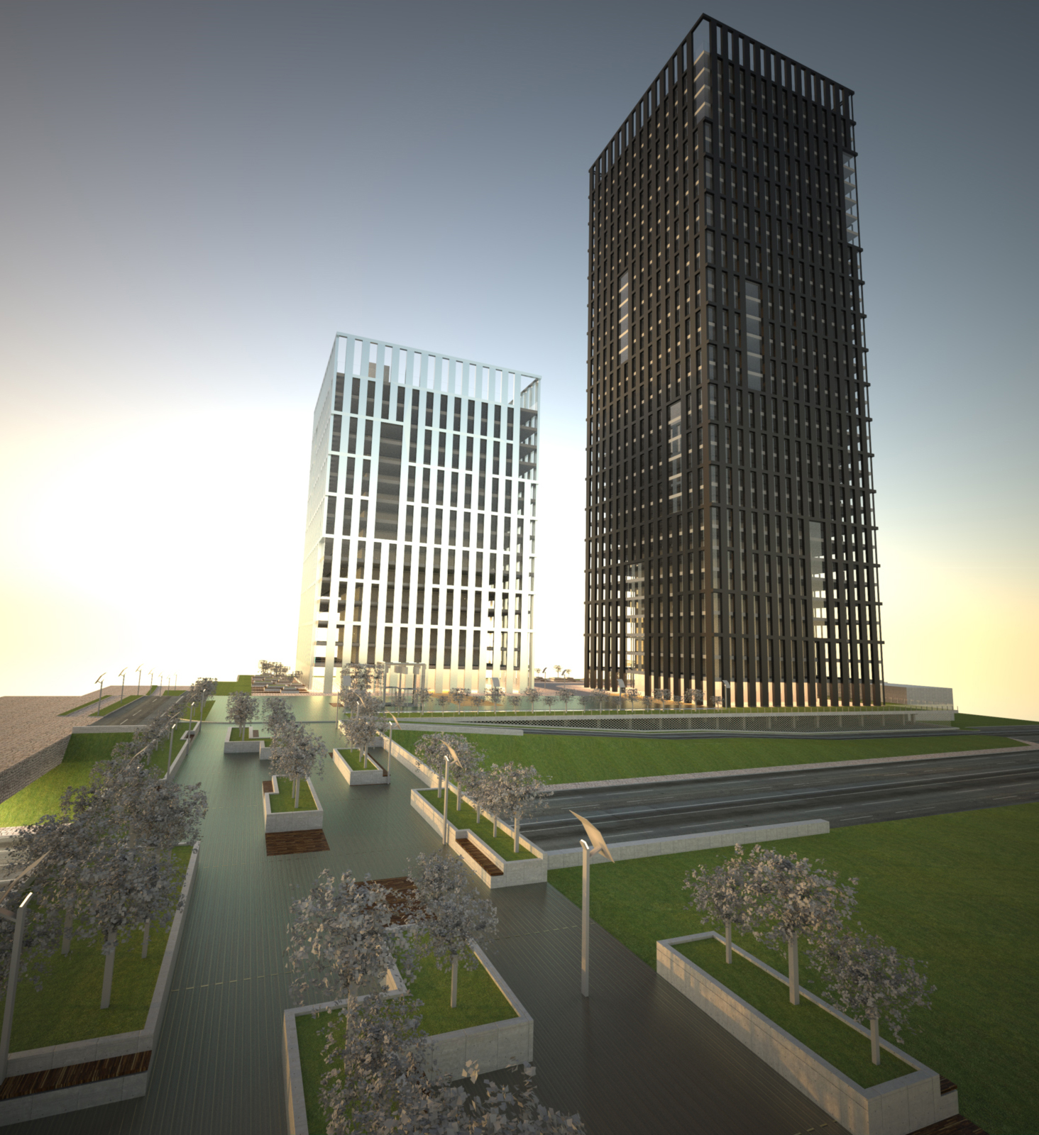 Silesia Towers Development